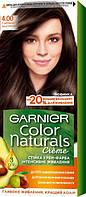 Крем-фарба для волосся Garnier Color Naturals, 4.00 каштановий Глибокий