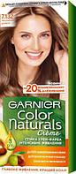 Крем-фарба для волосся Garnier Color Naturals, 7.132 Натуральний русявий