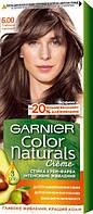Крем-фарба для волосся Garnier Color Naturals, 6.00 Глибокий горіховий