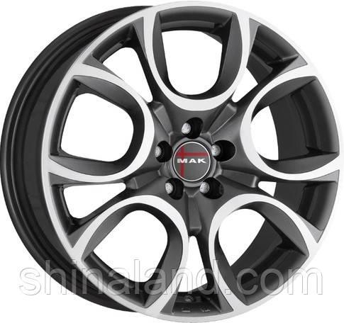 Диски MAK Torino 7x16 5x110 ET41 dia65,1 (GMMF) (кт)