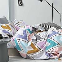 Комплект постельного белья Вилюта полуторный Сатин Twill 548