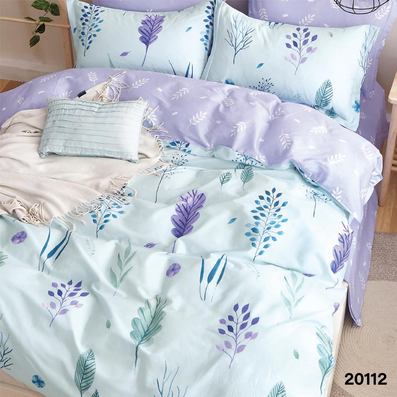 Комплект постельного белья Вилюта Евро ранфорс 20112