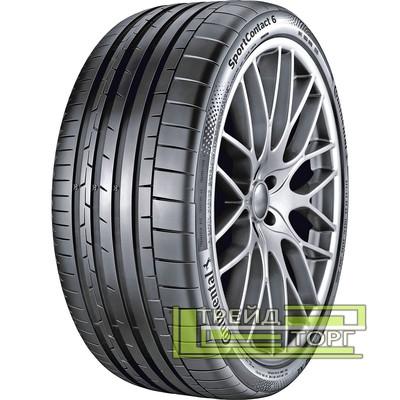 Летняя шина Continental SportContact 6 295/30 ZR19 100Y XL FR