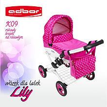 Коляска для ляльок Adbor Lily K09