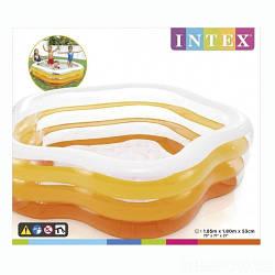 Intex Бассейн 56495 NP (3) размером 185-180-53см, объём: 466л, от 6 лет