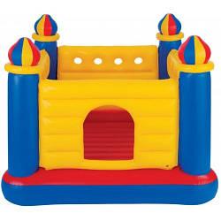 """Надувной детский батут """"Замок"""" Intex 48259,Размеры: 175-175-135 см."""