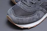 Кросівки чоловічі 18031, New Balance 574, темно-сірі, [ 41 42 43 44 45 46 ] р. 41-26,5 див., фото 4