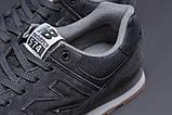 Кросівки чоловічі 18031, New Balance 574, темно-сірі, [ 41 42 43 44 45 46 ] р. 41-26,5 див., фото 5