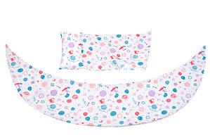 Nuvita Набор аксессуаров для подушки DreamWizard (наволочка, мини-подушка) Белый