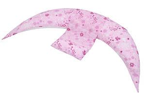 Nuvita Набор аксессуаров для подушки DreamWizard (наволочка, мини-подушка) Розовый