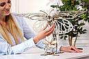 Механические 3D пазлы UGEARS - «Бабочка», фото 7