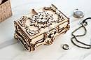 Механические 3D пазлы UGEARS - «Антикварная шкатулка», фото 6