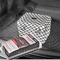 Сетка в багажник напольная  90х70 одинарная (фиксация багажа) (блистер) TN063