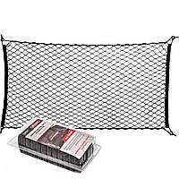 Сетка в багажник напольная 115 х60 одинарная (фиксация багажа) (блистер) TN069