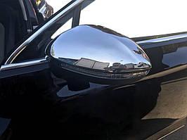 Volkswagen Passat B8 2015↗ рр. Накладки на дзеркала (2 шт., нерж) Carmos - турецька сталь