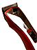 Машинка для стрижки волосся і бороди акумуляторна Gemei GM-6027+4 насадки гребеня, фото 2