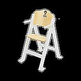 Стілець для годування Lionelo FLORIS WHITE, фото 3