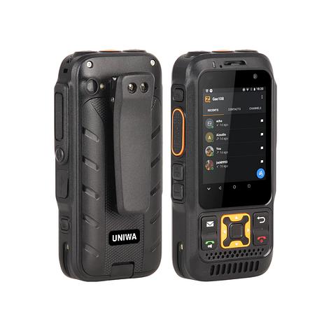 Uniwa F30S (Inrico S100) black. РАЦІЯ, Android, фото 2