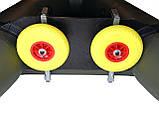 Транцевые колеса КТ270STR-Poly (AISI 304) из нержавеющей стали для надувных лодок из ПВХ, фото 8