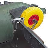 Транцевые колеса КТ270STR-Poly (AISI 304) из нержавеющей стали для надувных лодок из ПВХ, фото 5