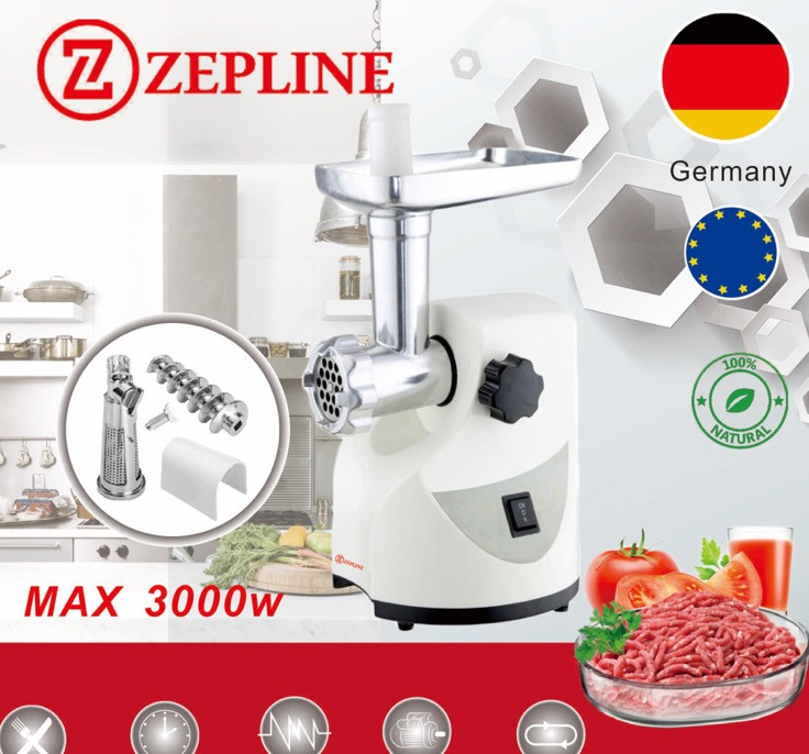 Электрическая мясорубка Zepline ZP-003