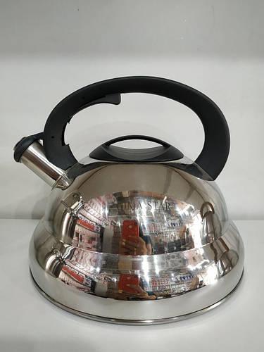 Чайник нержавейка со свистком KV-506 4.5л