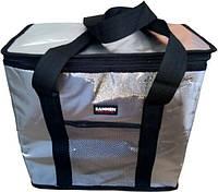 Термосумка, сумка холодильник 25 літрів, Термобокс, Чорний (GIPS)