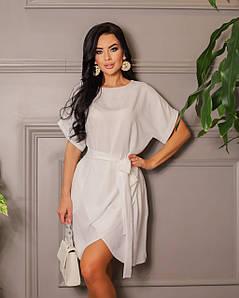 Платье с юбкой тюльпан 669 (ФР)