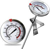Кухонний термометр для м'яса з нержавіючої сталі, термометр кондитерський для духовки