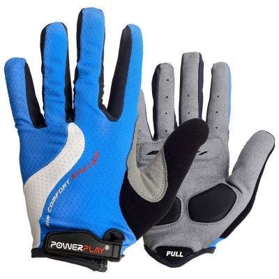 Велорукавички PowerPlay 6554 A Сині Xxl SKL24-144286