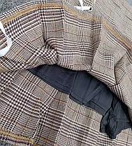 Стильна твідовий спідниця в клітку шотландка, фото 2
