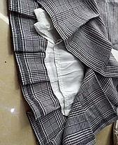 Стильная твидовая юбка в клетку шотландка, фото 3