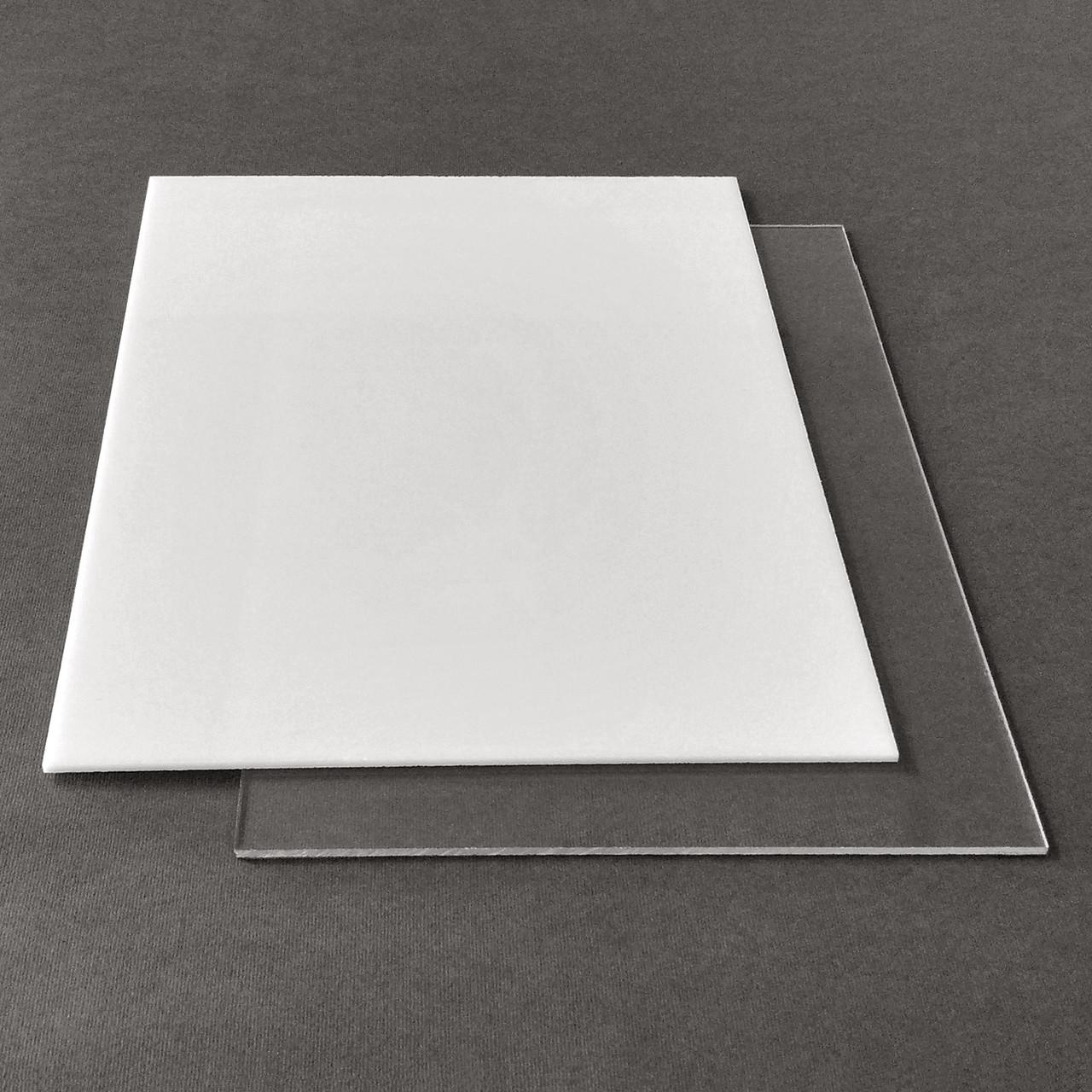 Рекламний пластик САН Plexan, прозорий, лист 2.05 х 3.05 м, 4 мм