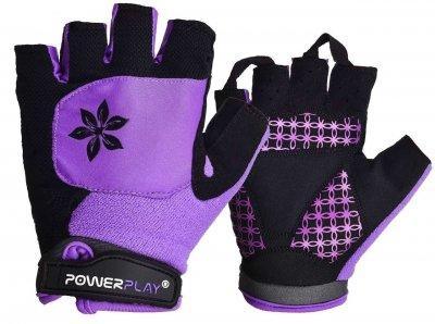 Велорукавички PowerPlay 5284 Фіолетові S SKL24-144508