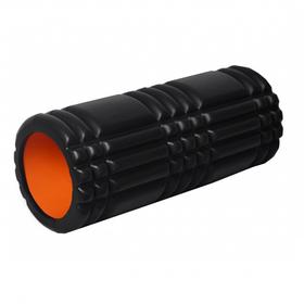 Масажний ролик PowerPlay 4025 Чорно-Оранжевий SKL24-144644