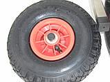 Транцевые колеса КТ400Interceptor (AISI 304) из нержавеющей стали для надувных лодок из ПВХ, фото 5