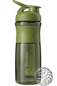 Пляшка-шейкер спортивна BlenderBottle SportMixer 820ml Moss Green SKL24-144849