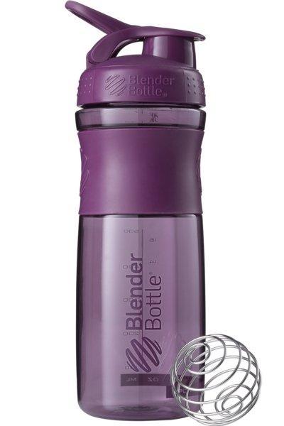 Бутылка-шейкер спортивная BlenderBottle SportMixer 820ml Plum SKL24-144850
