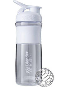 Бутылка-шейкер спортивная BlenderBottle SportMixer 820ml White SKL24-144854
