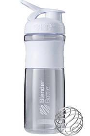 Пляшка-шейкер спортивна BlenderBottle SportMixer 820ml White SKL24-144854