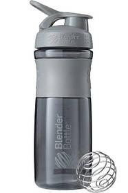 Пляшка-шейкер спортивна BlenderBottle SportMixer 820ml Grey SKL24-144856