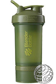 Шейкер спортивный BlenderBottle ProStak 650ml с 2-мя контейнерами Moss Green SKL24-144864