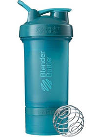 Шейкер спортивний BlenderBottle ProStak 650 ml з 2-ма контейнерами Teal SKL24-144865