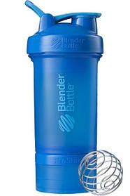 Шейкер спортивный BlenderBottle ProStak 650ml с 2-мя контейнерами Cyan SKL24-144866