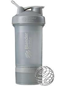 Шейкер спортивний BlenderBottle ProStak 650 ml з 2-ма контейнерами Grey SKL24-144869