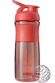 Бутылка-шейкер спортивная BlenderBottle SportMixer 820ml Coral SKL24-144871