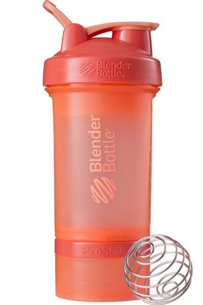 Шейкер спортивный BlenderBottle ProStak 650ml с 2-мя контейнерами Coral SKL24-144872