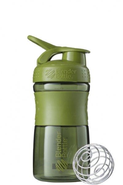Спортивная бутылка-шейкер BlenderBottle SportMixer 590ml Moss Green SKL24-144874
