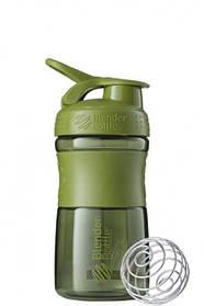 Спортивна пляшка-шейкер BlenderBottle SportMixer 590ml Moss Green SKL24-144874