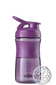 Спортивна пляшка-шейкер BlenderBottle SportMixer 590ml Plum SKL24-144875